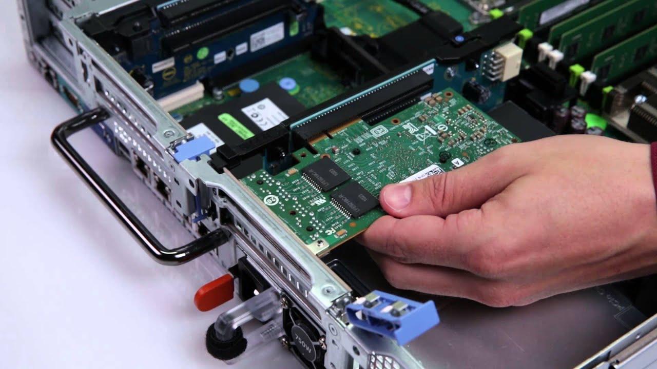 Dell Storage NX3230 Install PCIe
