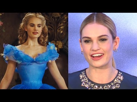 Cinderella's Lily James & Cast React To Waist Size Concerns