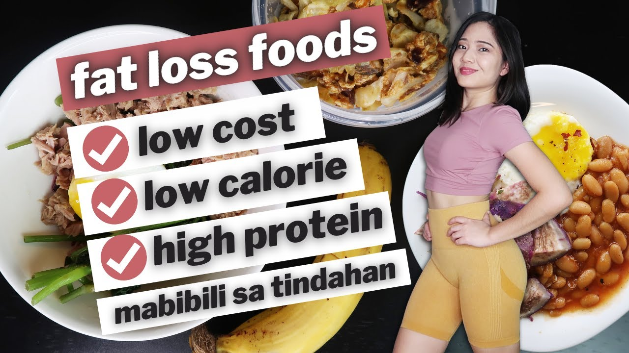 Low Budget WEIGHT LOSS Foods + Meal Prep | 350 calories (as low as 25 Pesos per Meal!)