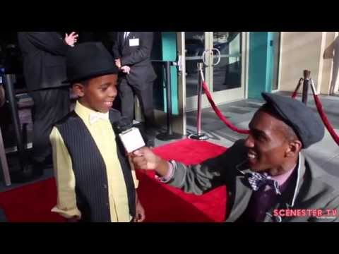 Adorable Actor Marcanthonee Reis s at SNOWPIERCER Premiere at LA Film Festival