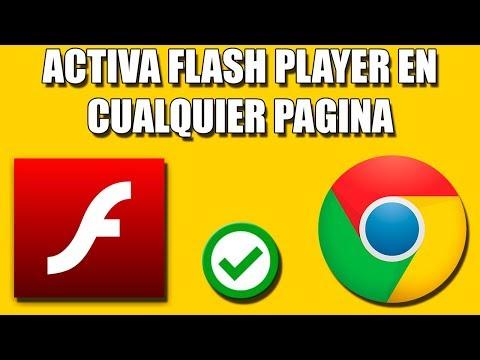 Activar Flash Player En Chrome (Nuevo Método)