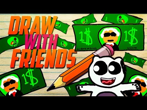 Draw with Friends Funny Moments! - The World's WORST Panda!