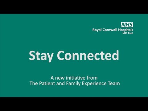 Stay Connected - The Patient and Family Experience Team