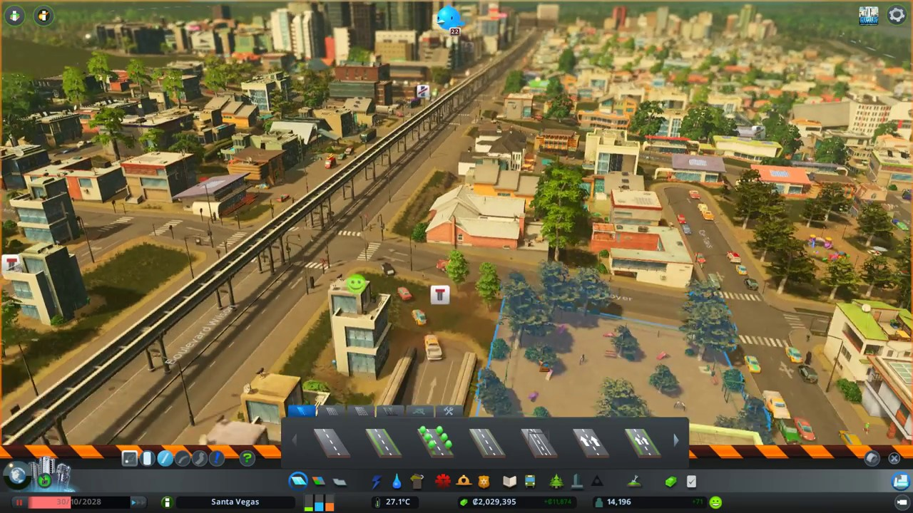 cities skyline how to put monorail