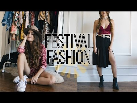 MY FESTIVAL STYLE | 5 Outfit Ideas!