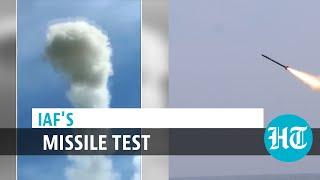 Watch: IAF testfires Akash missile, Russian Igla amid China border tension