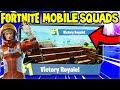 80+ WINS! SQUAD GAMES!  - Fortnite MOBILE Gameplay (Fortnite iPad Pro)