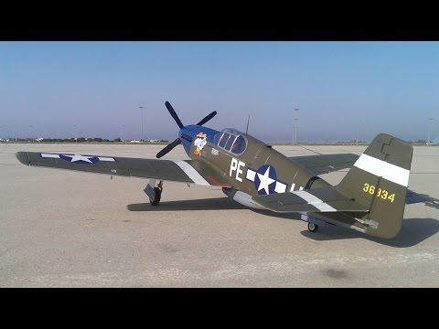 FMS P51B Flight 1