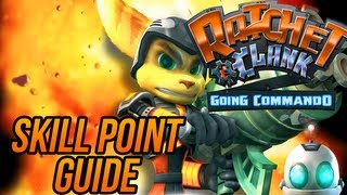 Ratchet and Clank 2: Going Commando - Skill Point Guide