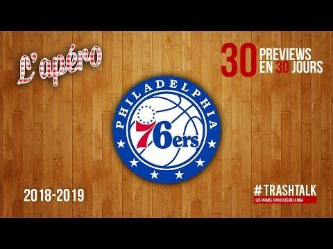 NBA Preview 2018-19 : les Philadelphie Sixers