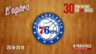 NBA Preview 2018-19 : les Philadelphie Sixers