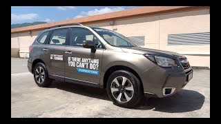 2016 Subaru Forester 2.0i-P AWD Start-Up and Full Vehicle Tour