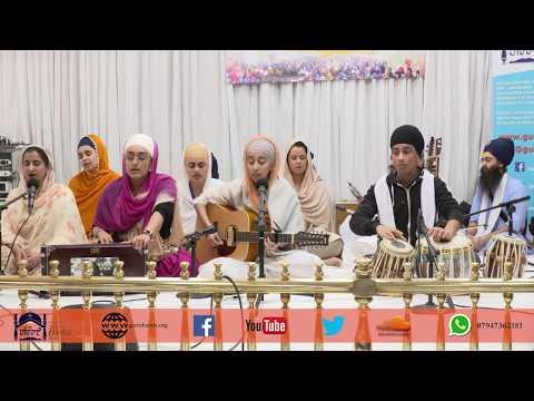 4K | DAY 34 | Simran Jaap 2018 | Bibi Gurpreet Kaur & Jatha | Gurdwara Guru Har Rai Sahib Ji