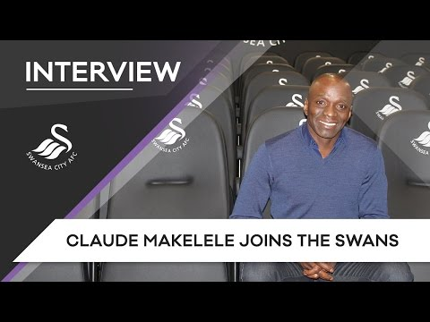 Swans TV - Interview: Claude Makelele joins the Swans