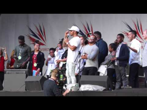 Silverstone 2017 - British Grand Prix - LEWIS HAMILTON AT AFTER PARTY!