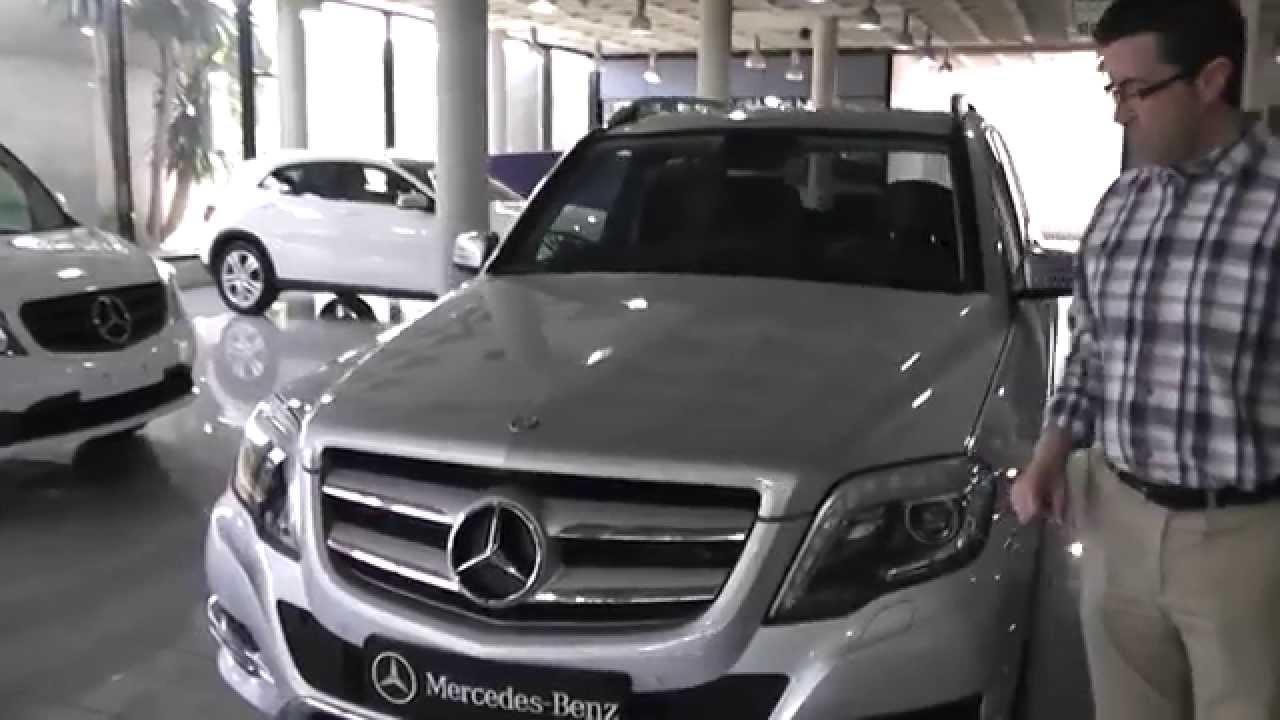 Mercedes Benz Vegar Glk 200 Cdi Plata Iridio Youtube