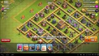 How to find the perfect base to attack in Clash of Clans!