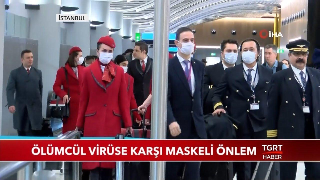 Ölümcül Korona Virüsüne Karşı Maskeli Önlem