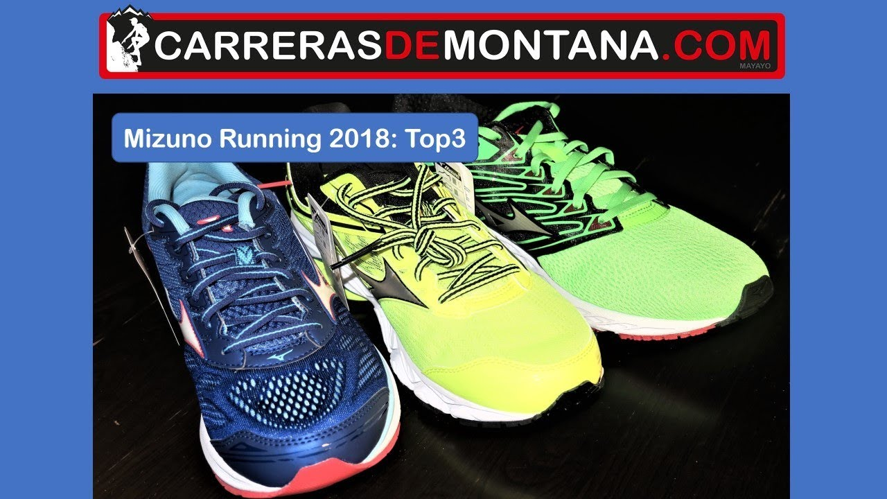 Mizuno running 2018  Top3 asfalto. Mizuno Wave rider 21  Mizuno Wave Ultima  9 y Mizuno Wave Shadow 3e1b4a34250