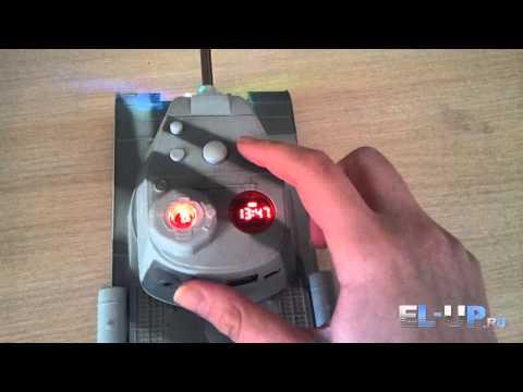 Видео обзор на колонка MP3 плеер в виде танка Т-34-85 с MicroSD, FM радио и USB