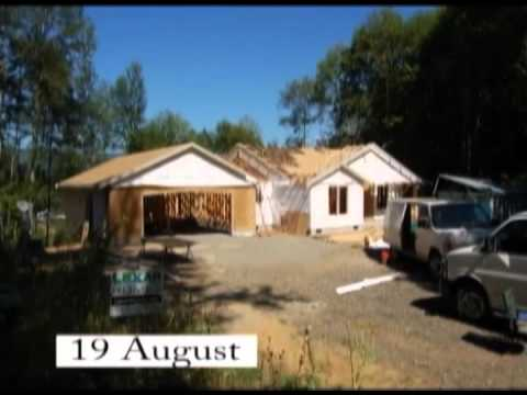 Lexar Homes 2318 Home Constructiontime Lapse Youtube
