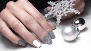 Красивый зимний маникюр 2020 2021 фото идеи новогоднего дизайна ногтей Nail Art