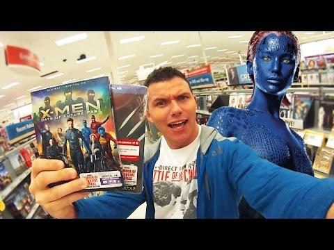X-MEN Days of Future Past Blu-ray Movie - FLICK TRIP