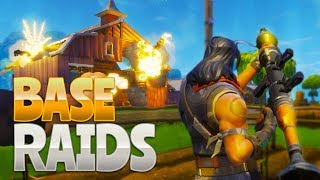 BASE RAIDS!  (Fortnite Battle Royale)