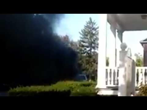 Cars catch fire in Bridgeton