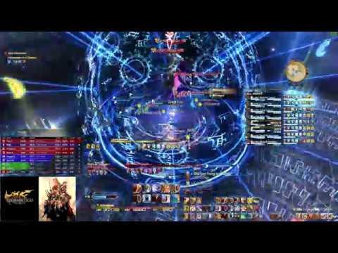 FFXIV: Stormblood - Omega: Alphascape V4.0 (Savage) [Omega-M & F] First Clear - Dragoon POV