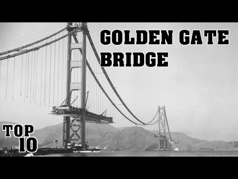 Top 10 Things To Know About The Golden Gate Bridge