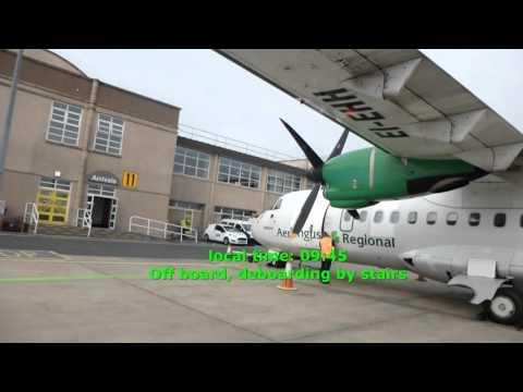 Aer Lingus Regional (Stobart Air)/Dublin-Isle of Man-Dublin/Economy/ATR42/SEP14
