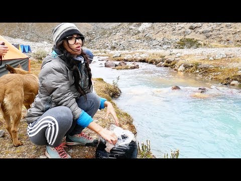 HOW TO DO LAUNDRY ON A MOUNTAIN