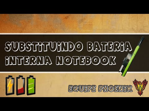 Substituindo Bateria Interna Notebook CCE Win Ultra Thin U25 - Equipe Phoenix