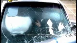 Краш тест Kia Picanto 2004 (E-NCAP)