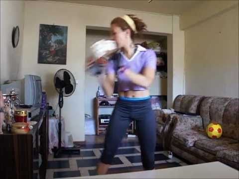 Me doing Jamie Eason's Plyometrics Routine, 2xs through, 9 different exercises (New Editing!)