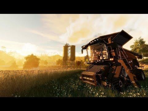 Уборка урожая, культивация и посев |карта Revenport|Farming Simulator 19|