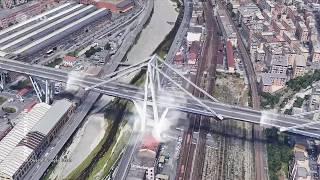 Autobahnbrücke in Genua (Italien) eingestürzt, 14.8.2018 - ZDF heute