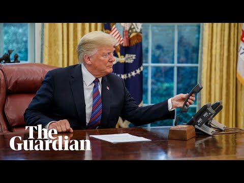 'Enrique? Hello?' Trump's awkward phone call with Mexican president