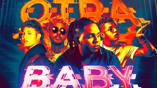 Download Akim, Dalex, Beéle - Otra Baby (Ft. Boza) (Official LyricVideo)