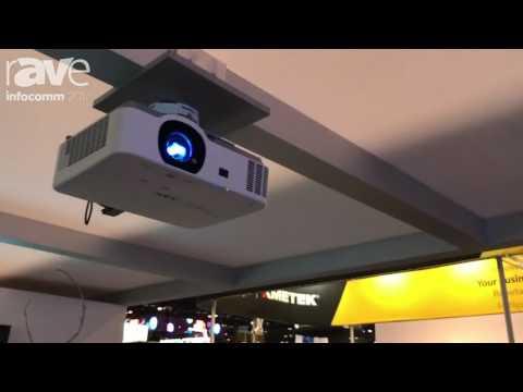 InfoComm 2017: NEC Display Shows Off P554U P Series Installation Projector