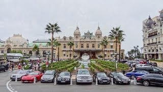 Monaco. Monte Carlo Casino and Super Cars. Round the World Trip, 18