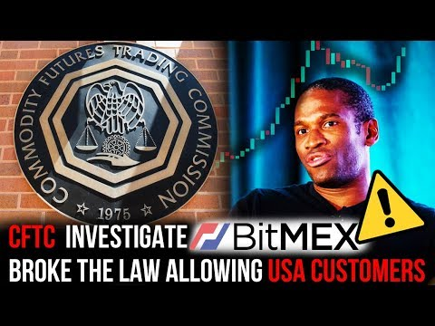 USA Government (CFTC) Investigate Bitcoin Futures platform Bitmex