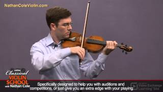 Violin Lesson on Vibrato from Nathan Cole