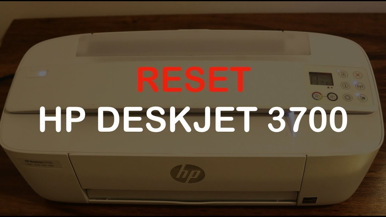 How to RESET hp deskjet 26 series all-in-one printer review !!!