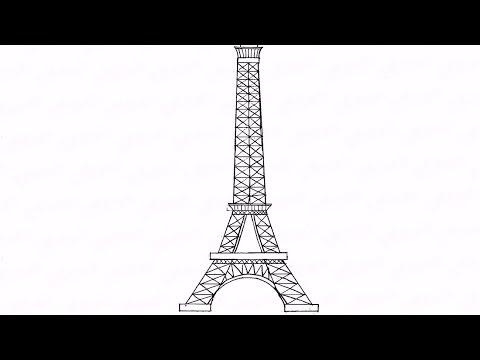 Как нарисовать карандашом эйфелеву башню: инструкция от EvriKak