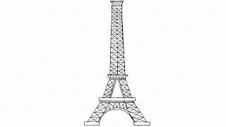 Как нарисовать карандашом эйфелеву башню: инструкция от EvriKak(Предлагаем нашу пошаговую инструкцию как нарисовать эйфелеву башню во франции. Фото-инструкции на сайте:..., 2015-11-23T08:25:59.000Z)