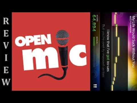 WP7 Game Review: OpenMic (WMPowerUser.com)