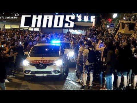 DÉBORDEMENT à Monaco ! Police et Supercars arrêtées !