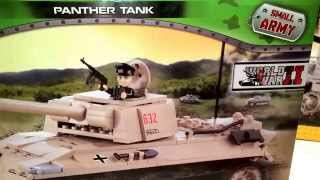Cobi Small Army WW2 Panther tank Review. 2 of 3